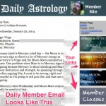 Daily Forecasts Member Site